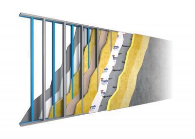Vanjski zid sa odličnom toplinsko-zvučnom karakteristikom
