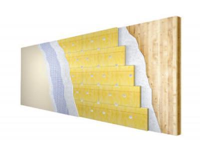 Vanjski zid iz poprečno laminirane šperploče