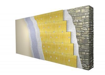 Vanjski zid iz kamena