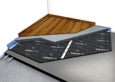 Podovi na međukatnoj konstrukciji