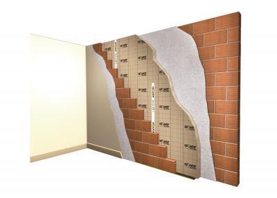 Dvoslojni vanjski zid s potpunom izolacijom šupljine