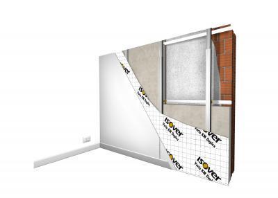 Vanjski zid izoliran iznutra - Brzo i toplinski učinkovito rješenje