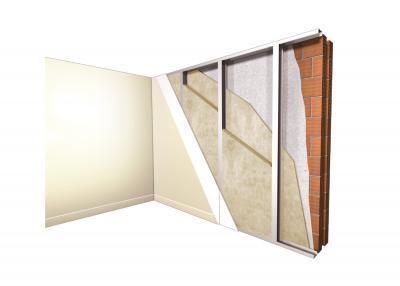 Vanjski zid izoliran iznutra - Odlična toplinska i zvučna zaštita