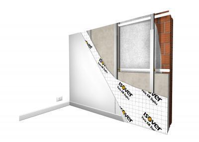 Vanjski zid izoliran iznutra
