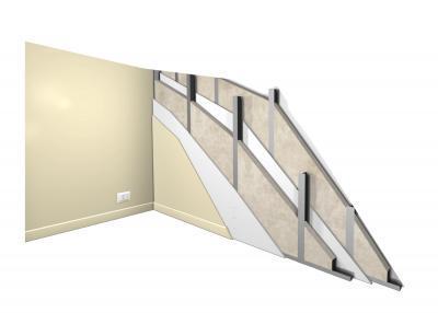 Pregradni gips-kartonski zid 01