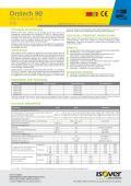 List sa podacima - Tech Slab MT 4.1