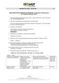 Izjava o svojstvima - Ventilam Alu 20-49
